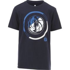 NBA Boys' Dallas Mavericks Double Slice T-shirt (Navy, Size X Large) - Pro Licensed Product, Nba Youth at Academy Sports