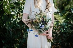 A Relaxed and Rustic Wedding in a Secret Herb Garden | Love My Dress® UK Wedding Blog