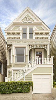 New exterior paint colors for house victorian san francisco ideas Architecture Design, Victorian Architecture, Architecture Sketchbook, Architecture Portfolio, Classical Architecture, Residential Architecture, Paint Colors For Home, House Colors, Paint Colours