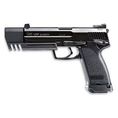 Here is a better picture but in black. Heckler  Koch USP Match .45 Caliber