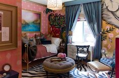 Bohemian style bedroom combines the classic and contemporary - Decoist