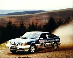 Rover SD1 rally car