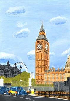 London England Big Ben