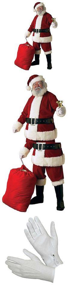 Men 52762  Rubie S Deluxe Velvet Christmas Santa Claus Suit Adult Mens  Costume, Standard 72f2aa6f695f