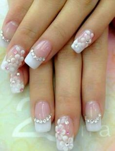 Pictures Of Wedding Nail Designs Best Of Pakistani Engagement Nail Art Designs for 2019 Fancy Nails, Cute Nails, Pretty Nails, My Nails, Fancy Nail Art, Engagement Nails, Bridal Nail Art, Nagel Hacks, Wedding Nails Design