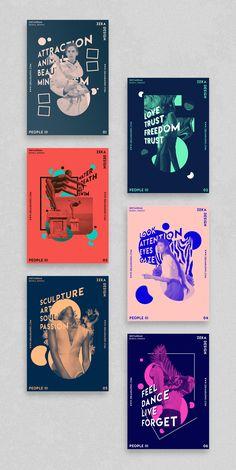 Apr 4 2020 - People 3 Poster Design Project Graphic Design Inspiration by Zeka Design - People 3 Full Poster Design and. Graphic Design Layouts, Graphic Design Projects, Graphic Design Posters, Graphic Design Typography, Layout Design, Editorial Design Layouts, Poster Designs, Typography Poster, Graphic Design Illustration