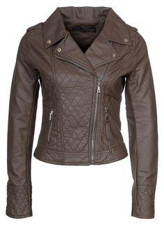 Jane Norman - leather jacket - bruin | Zalando €71,95