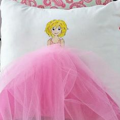 Blondie, great gift for the little girl in your life. Customize the hair, skin and eye color. Add name to top of case if you like. Make Lemonade Pillowcase. Handpainted, handcrafted pillowcases. Easy to swap out items to change up your decor seasonally. Browse shop for current collection or contact for custom work. (affiliate)