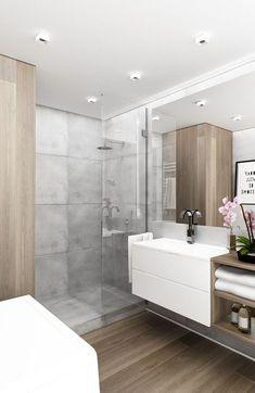 Przytulna i funkcjonalna łazienka - zdjęcie od KAST DESIGN - homebook