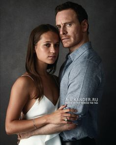 Alicia Vikander and Michael Fassbender photographed by Richard Phibbs - 2016