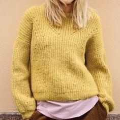 Strikkekit dame - Find moderigtige dame strikkekits her Kos, Turtle Neck, Pullover, Knitting, Sweaters, Inspiration, Fashion, Threading, Biblical Inspiration