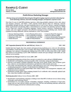 find this pin and more on resume template - Successful Resume Samples