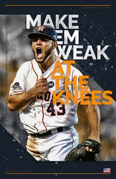 Lance McCullers Jr. Lance Mccullers, Houston Astros, Mlb, Baseball Cards, Sports, Hs Sports, Excercise, Sport, Exercise