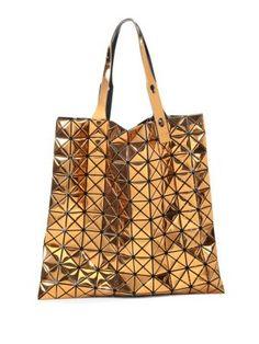 BAO BAO ISSEY MIYAKE . #baobaoisseymiyake #bags #patent #hand bags #nylon #tote #
