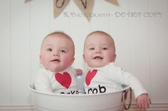 #6 month #baby #twins