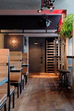 Melbourne's new Claremont Tonic restaurant & bar by Maison Davis and Hecker Guthrie.