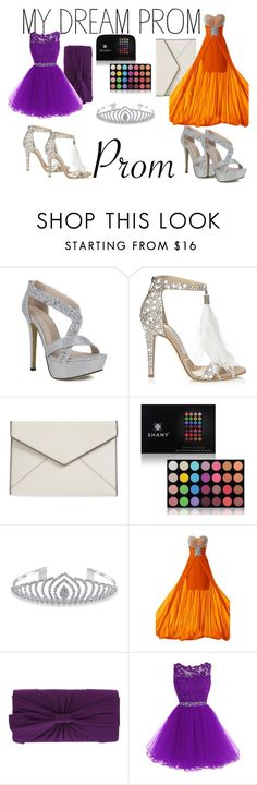 """""""Prom!"""" by labures on Polyvore featuring Jimmy Choo, Rebecca Minkoff, Shany and Bling Jewelry"""