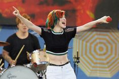 I got Orange and blue! Which Of Hayley From Paramore's Hair Colors Are You?