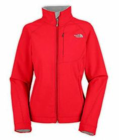 Fashion Red Women's North Face Apex Bionic Jacket
