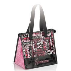 Words Of Inspiration Laminated Insulated Shopper Tote Bag