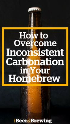 How to Overcome Inconsistent Bottle Carbonation