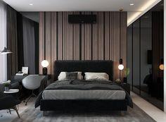 Modern Luxury Bedroom, Luxury Bedroom Design, Bedroom Bed Design, Home Room Design, Contemporary Bedroom, Luxurious Bedrooms, Wardrobe Design Bedroom, Master Bedroom Interior, Apartment Bedroom Decor