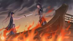Chinese Cartoon, Chinese Characters, China Art, Boyxboy, Fujoshi, Priest, Husky, Anime Art, Stains