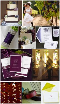 Purple Wedding Theme Ideas | Ideas for Wine Themed Weddings