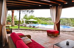 Cas Gasi Agroturismo hotel ibiza offers exclusive accommodation for those looking for a luxury boutique hotel within easy reach of the island's delights. Outdoor Spaces, Outdoor Living, Outdoor Decor, Outdoor Projects, Indoor Outdoor, Decorative Bird Houses, Backyard Retreat, Backyard Ideas, Back Patio
