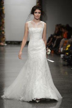 Lace Wedding Gown by Anna Schimmel