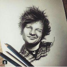 Ed Sheeran Desenho