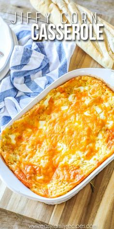 Homemade Corn Casserole- THE BEST RECIPE!