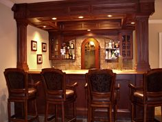 Custom Bar by Arthur W. Brown | Kitchen and dining | Pinterest ...