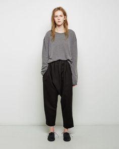 Le Vestiaire de Jeanne | Uniform Sarouel Trouser | La Garçonne