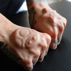 Mario Subdermal Implant By Max Yampolskiy - #BodyModifications #BodyMods