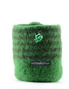 Green on Green Chalk Bag tomberina on Etsy