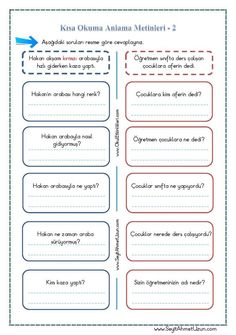 Kısa Okuma Anlama Metinleri – 2 pdf formatında özgün bir çalışma olarak hazırlanmıştır. Aşağıda bulunan linkten kolayca indirebilirsiniz. Tüm çalışmalarımızı kendi emeklerimizle özgün olarak hazırlıyoruz..
