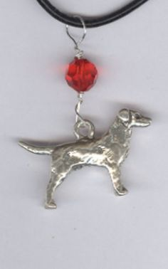 I Love My Labrador Retriever Birthstone Charm by SarahDipitiToo