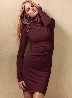 NEW! Turtleneck Sweaterdress #VictoriasSecret http://www.victoriassecret.com/clothing/the-dress-edit/turtleneck-sweaterdress?ProductID=65055=OLS?cm_mmc=pinterest-_-product-_-x-_-x