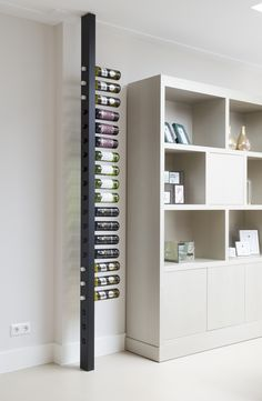 Wine Rack Wall, Wine Wall, Wood Wine Racks, Küchen Design, House Design, Wine Rack Design, Home Wine Cellars, Home Bar Designs, Wine Decor