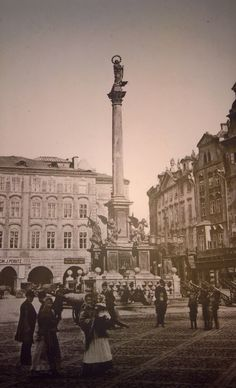 Staromestske Namesti Praha Prague Photos, Central Europe, Czech Republic, Old Photos, Paris Skyline, Cities, Photographs, Retro, Travel