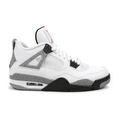 Air Jordan 4 Cement White Black Cement Grey 308497-103