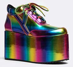 QOZMO Metallic Rainbow Flatform Sneaker Y.R.U. http://www.amazon.com/dp/B00V7HBGQC/ref=cm_sw_r_pi_dp_ISIivb0MG1YB3
