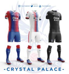 Premier League Concept Kits - All Premier League Kits Redesigned By Qehzy - Footy Headlines Soccer Kits, Football Kits, Premier League Teams, World Football, European Football, Sports Games, Arsenal Fc, Sport T Shirt, Olympic Games