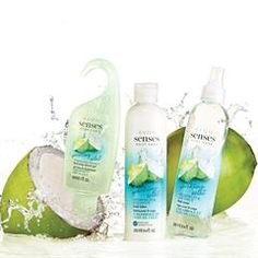 Avon Senses Sparkling Starfruit and Coconut Body Lotion