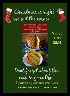 Our new cookbook, Sweet Things, features over 150 wonderful recipes for pies, cakes, puddings, cobblers, cookies and more. The wire binding makes it perfect for those days cooking in the kitchen. #desserts #christmas #holidays #Kentucky #Southern