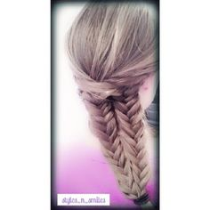 Fishtail illusion/mermaid braid