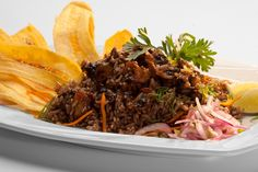 Rice with black shells - Arroz con conchas negras // Peru Delights