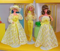 Pretty Changes Barbie - One of my first Barbies. I loved that yellow jumpsuit.