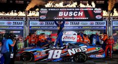Busch Steamrolls Over Texas Xfinity Field | The Burnout